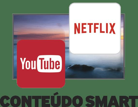 Conteúdo Smart - Smart TV Samsung J5500