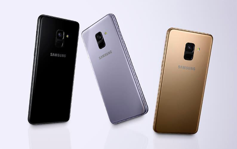 Cores Galaxy A8