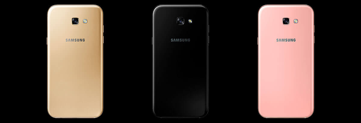 Galaxy A720F Preto