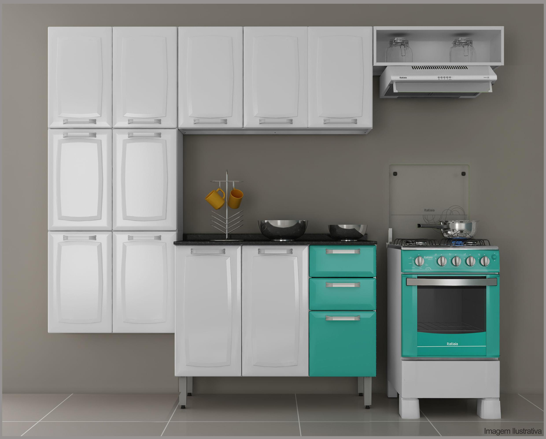 Cozinha Em A O 3 Pe As Itatiaia Luce Novo Mundo