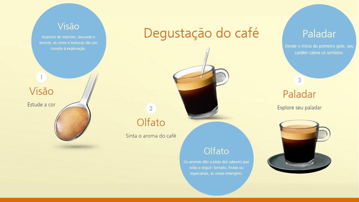 Degustação doi café