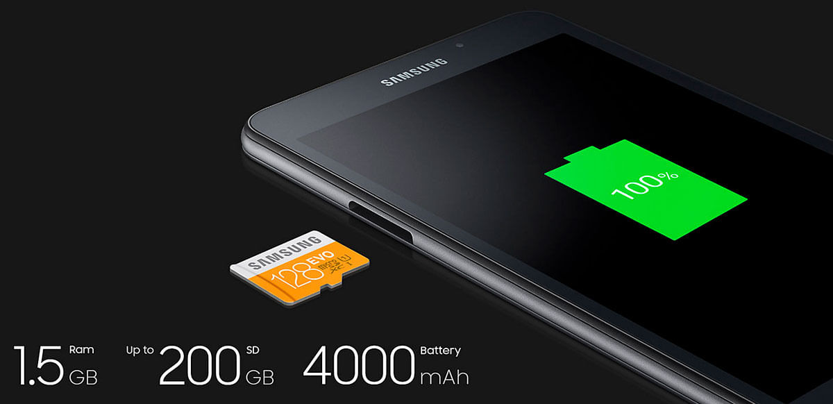 Desempenho Galaxy Tab A 7 Polegadas