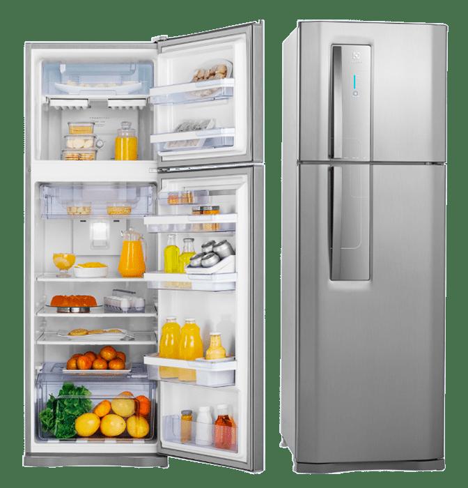 Refrigerador Inox Electrolux Duplex DF42