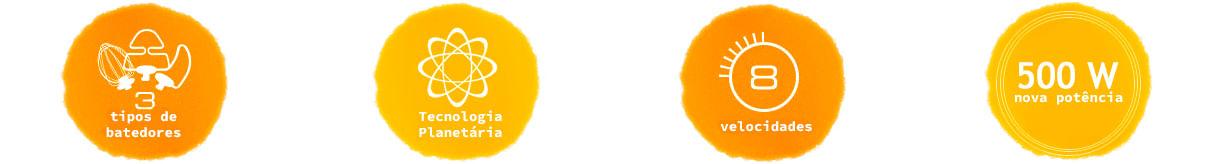 Informações Batedeira Planetária Arno SX80