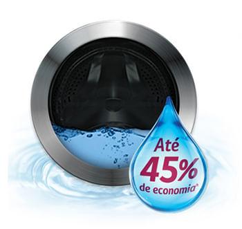 Economia de Água Lavadora e Secadora WD1485AT