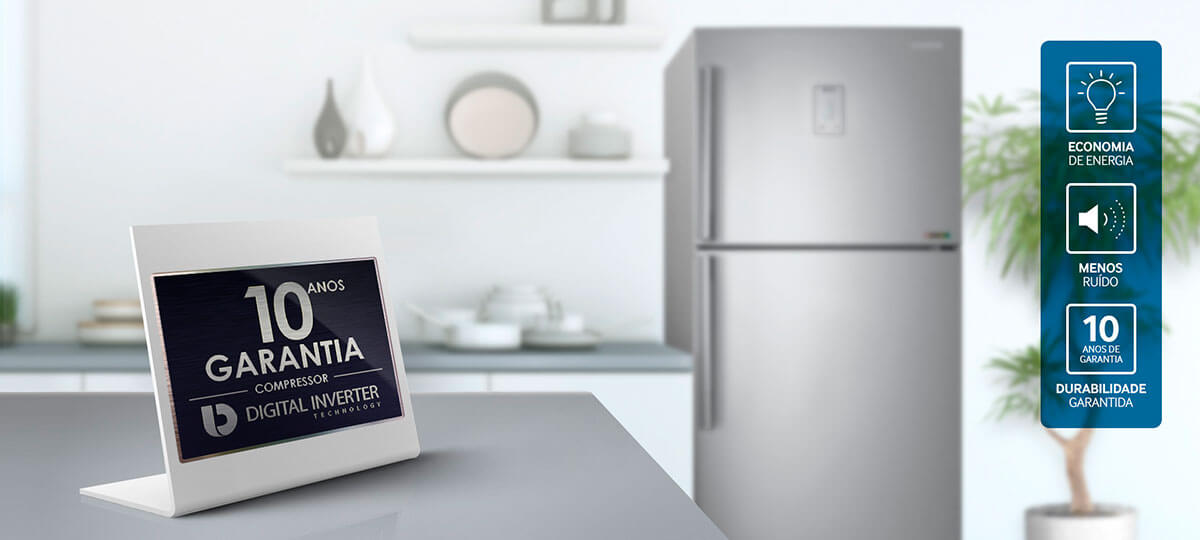 Economia e Durabilidade - Refrigerador RT6000K