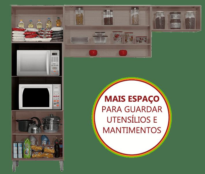 Espaço Interno Cozinha Jazz Itatiaia