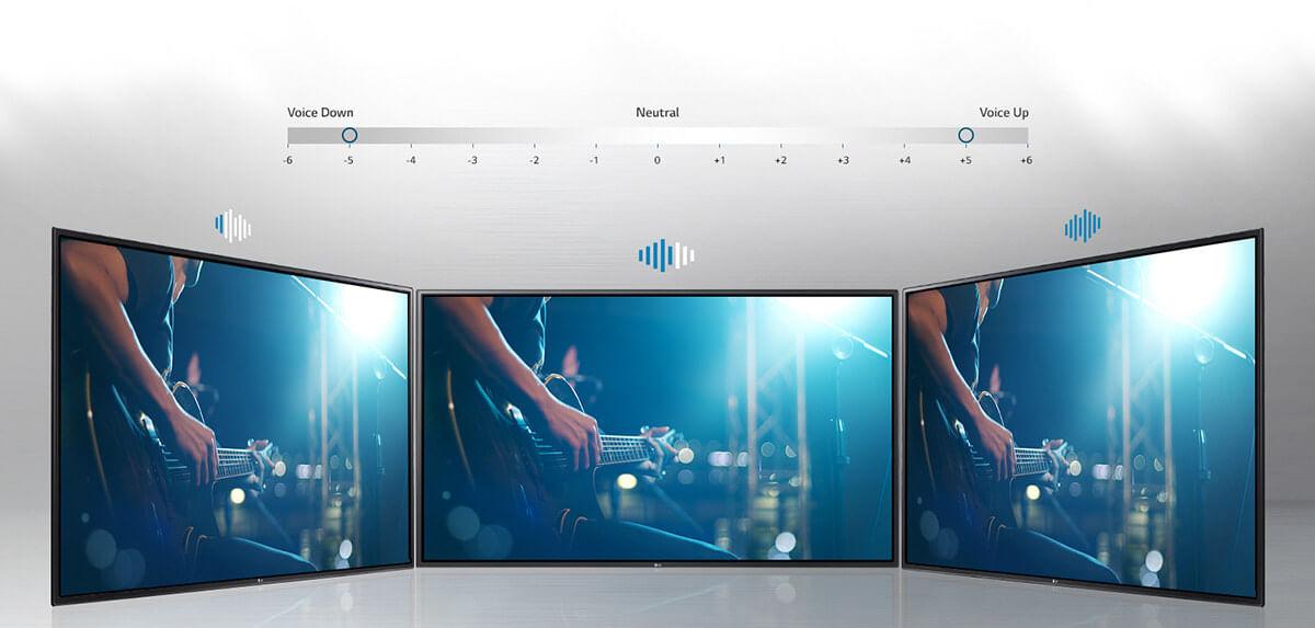Clear Voice TV LG 32LH510B