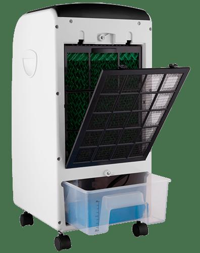 Climatizador de ar cadence ventila e umidifica preto - Climatizador de agua ...