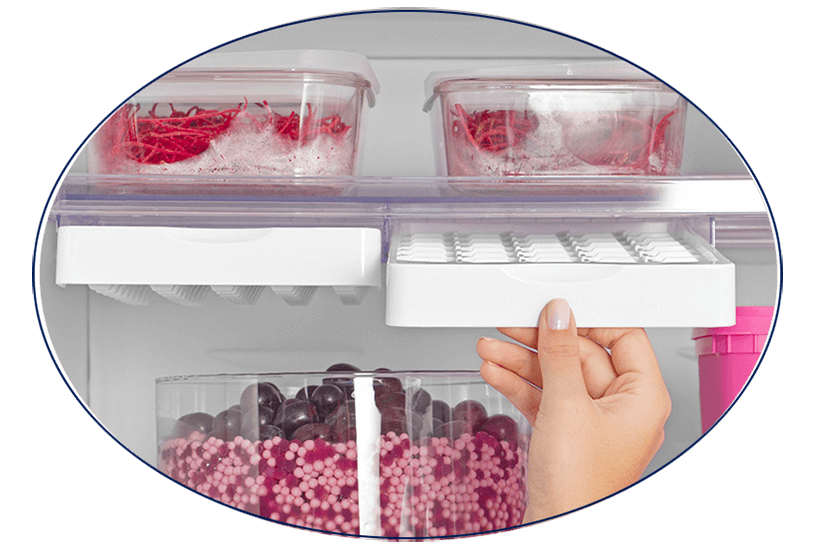 Forma de gelo Refrigerador Electrolux Duplex DC49A