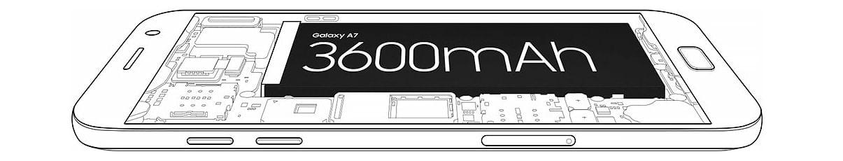 Bateria Galaxy A520F