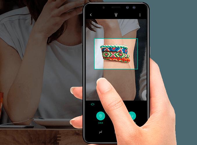 Bixby Galaxy A8
