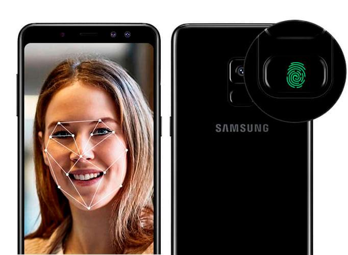 Segurança Galaxy A8