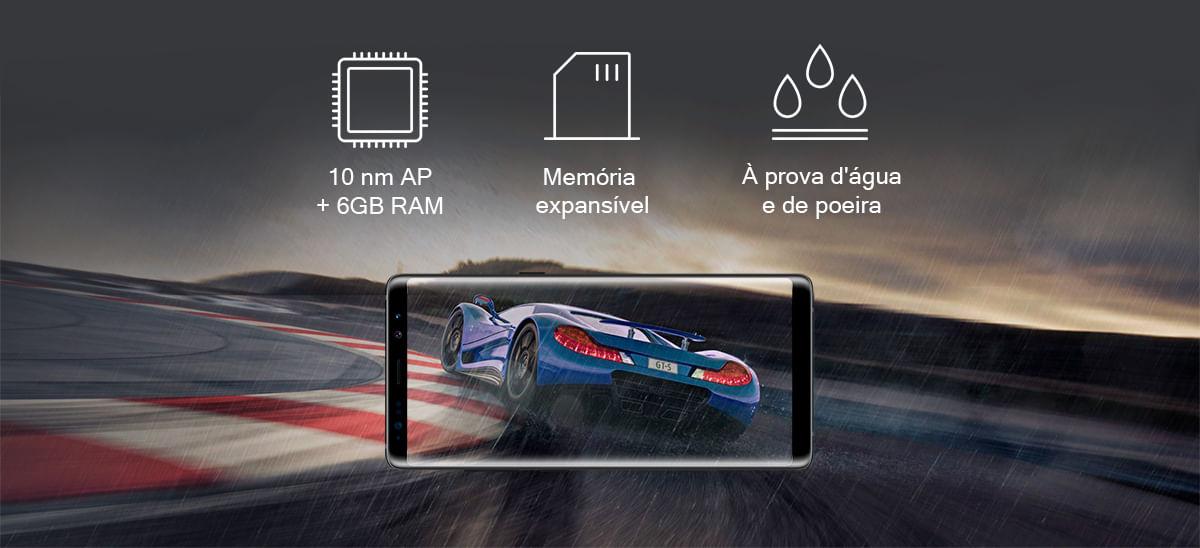 Desempenho Galaxy Note 8