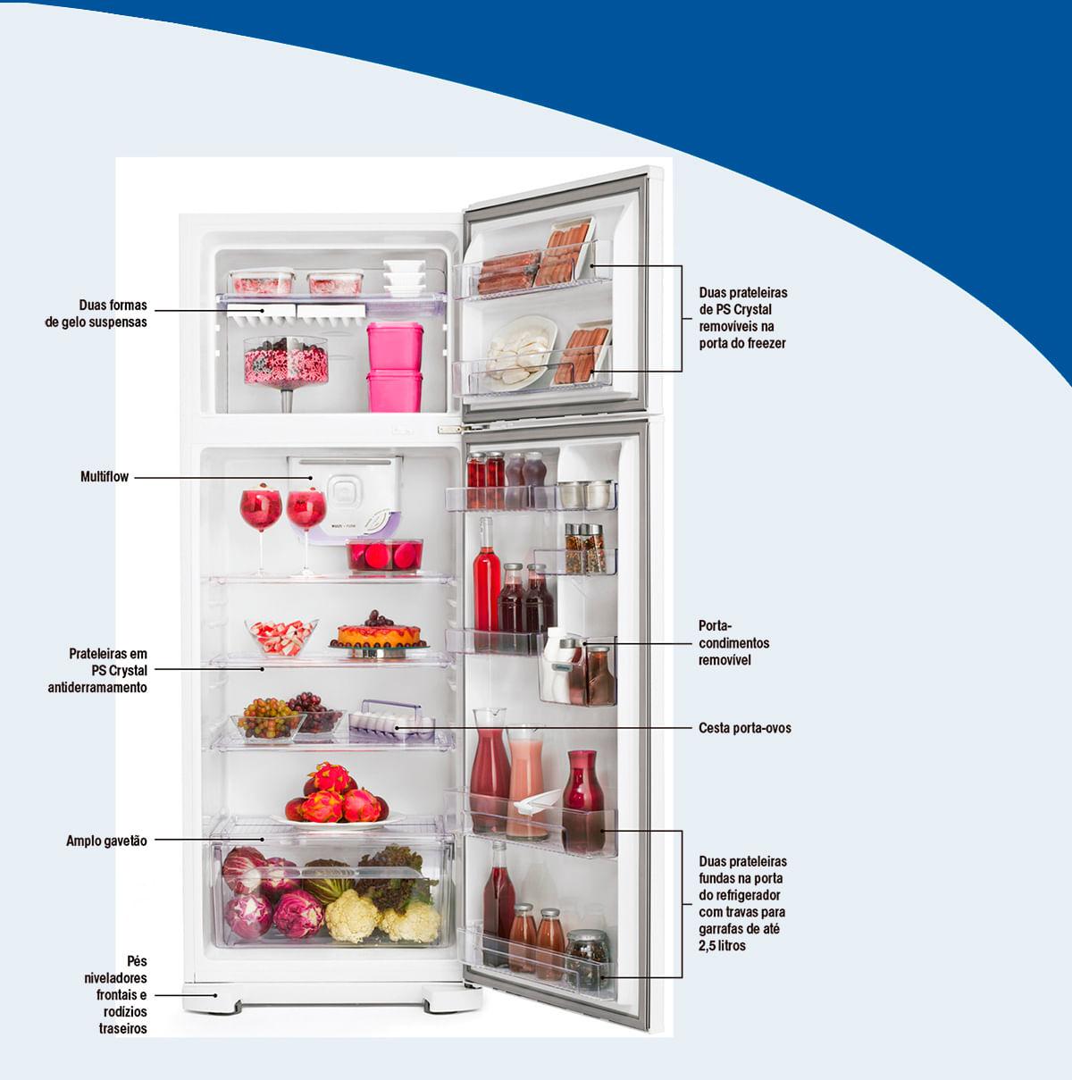 Refrigerador Electrolux Duplex DC49A