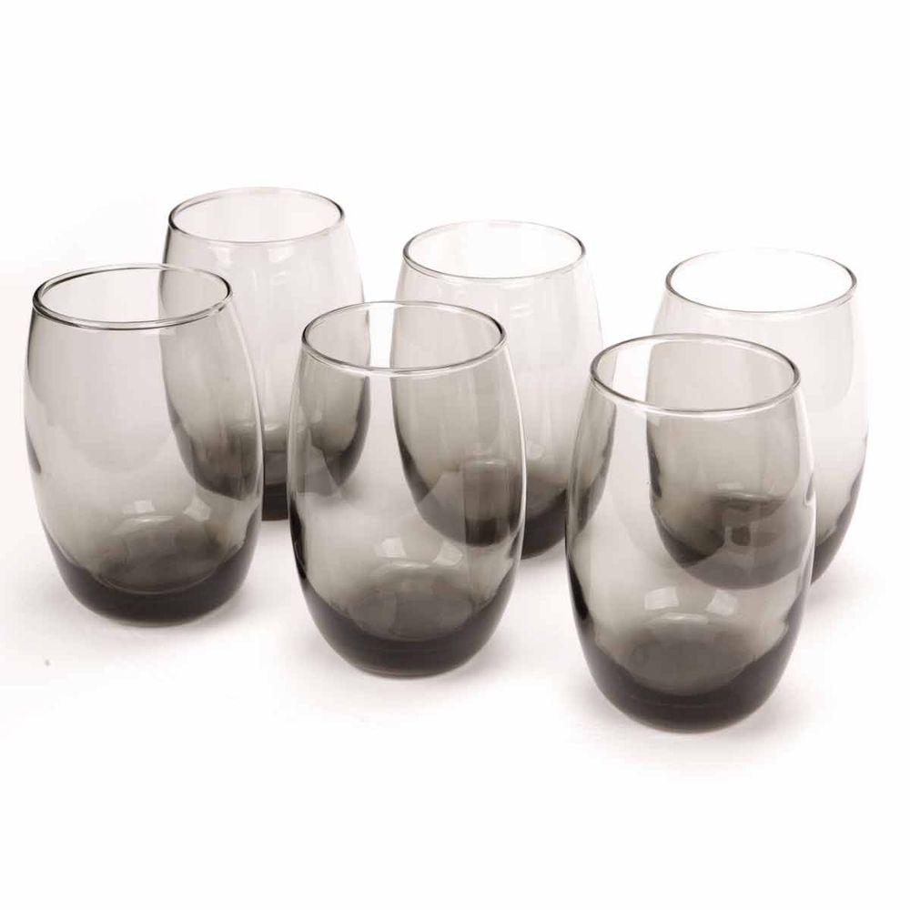 Conjunto Copos Bellize Gray 450ml Long Drink 6 peças - Cisper - Novo ... 95ff8640928e8