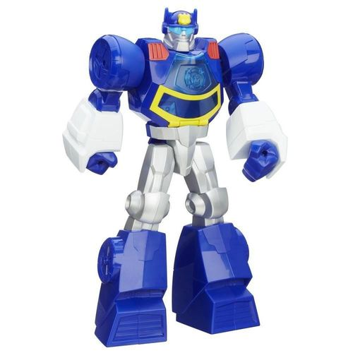 Boneco Playskool-transformers Rescue Bots Chase The Police Hasbro