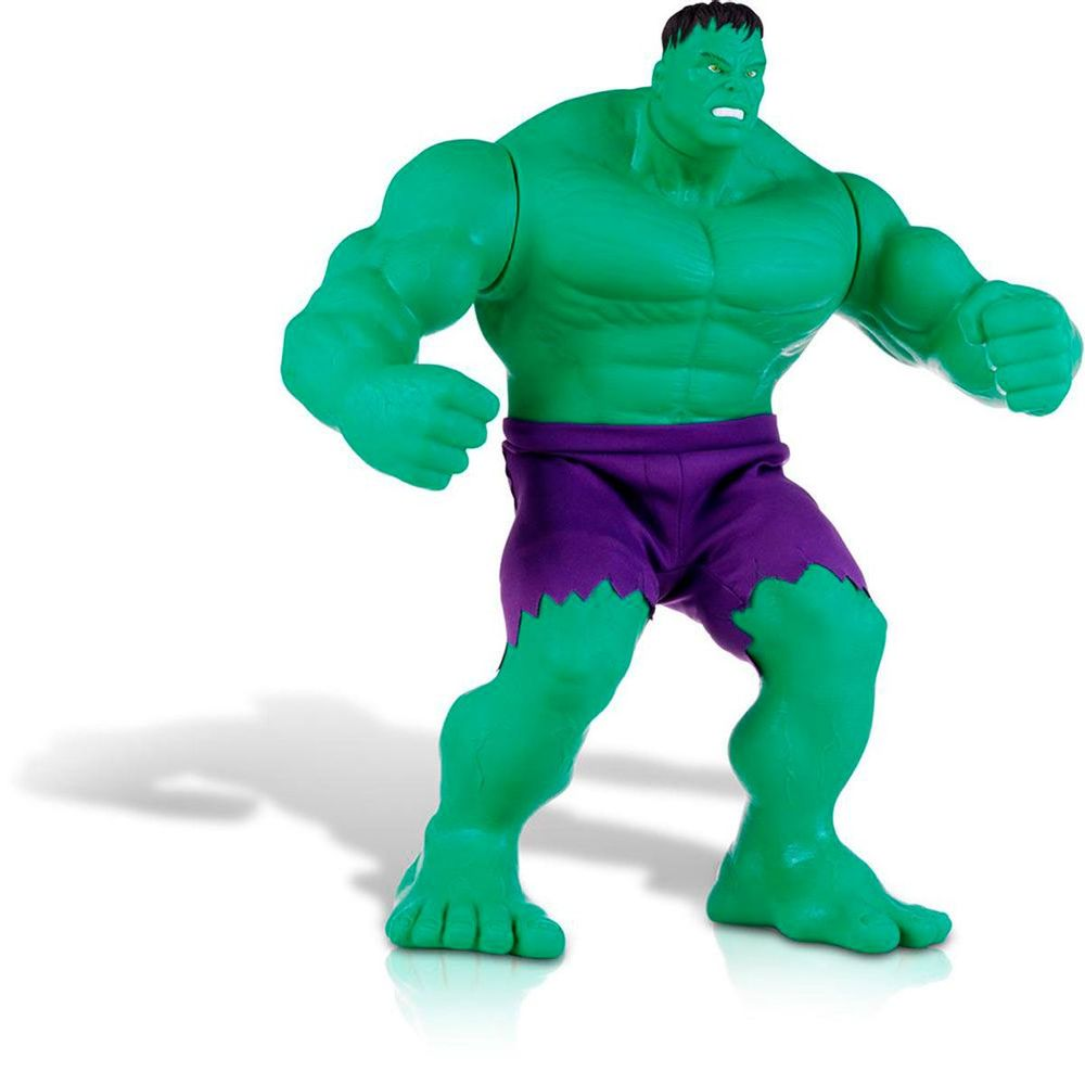 Boneco Marvel Hulk Clássico Gigante 55 cm - Mimo 453 - Novo Mundo 0ddeff6b05f