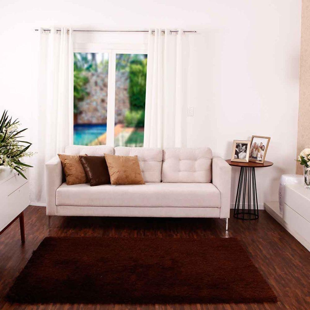 Tapete Premier Para Quarto E Sala 1 40×1 90m Havan Novo Mundo -> Sala De Tv Com Tapete E Almofadas
