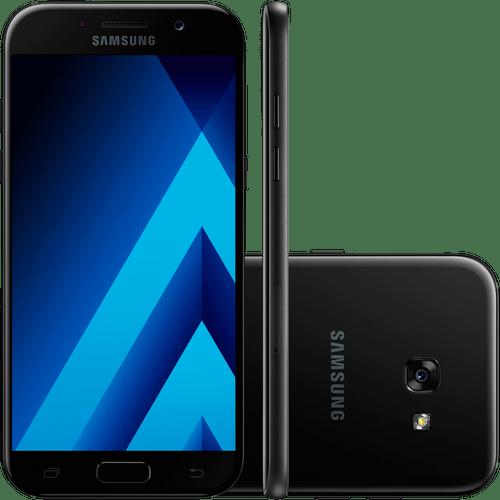 Smartphone Samsung Galaxy A5, Dual Chip, 4g, 32 Gb, Octa-core, 16mp, Preto - A520f