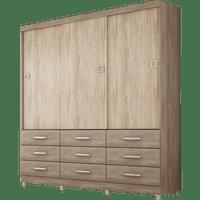 guarda-roupa-3-portas-9-gavetas-demobile-paraiso-nogal-vanilla-touch-39299-0