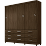 guarda-roupa-3-portas-9-gavetas-demobile-paraiso-ebano-39298-0