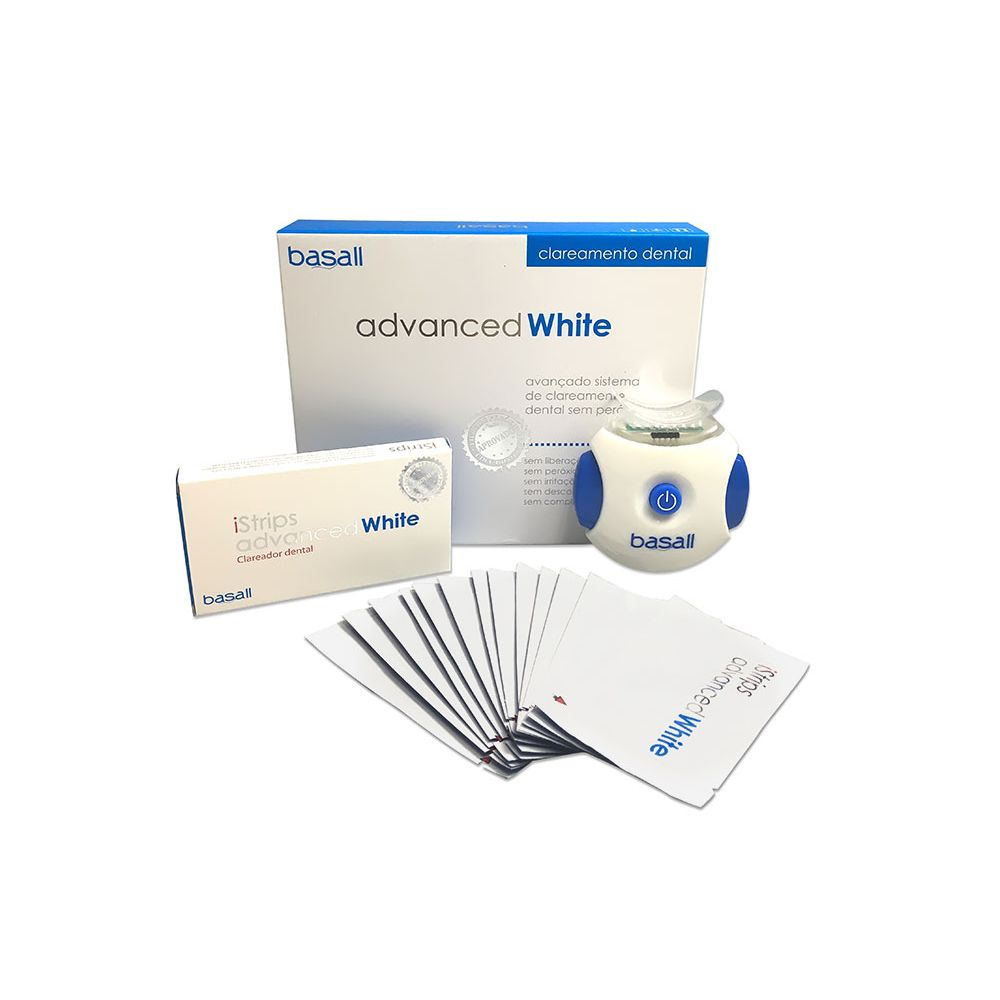 3da98b2b1 Clareador Dental Basall Advanced White - Novo Mundo