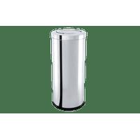 lixeira-inox-com-tampa-basculante-2817-litros---decorline-lixeiras-ø-25-x-60-cm
