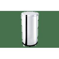 lixeira-inox-com-tampa-basculante-64-litros---decorline-lixeiras-ø-35-x-70-cm