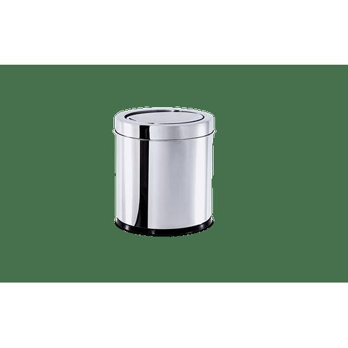 lixeira-inox-com-tampa-basculante-54-litros---decorline-lixeiras-ø-185-x-20-cm