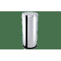 lixeira-inox-com-tampa-basculante-47-litros---decorline-lixeiras-ø-30-x-70-cm