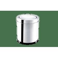 lixeira-inox-com-tampa-basculante-32-litros---decorline-lixeiras-ø-155-x-17-cm