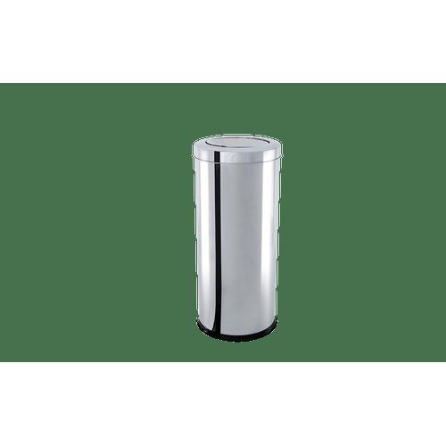 lixeira-inox-com-tampa-basculante-78-litros---decorline-lixeiras-ø-185-x-29-cm