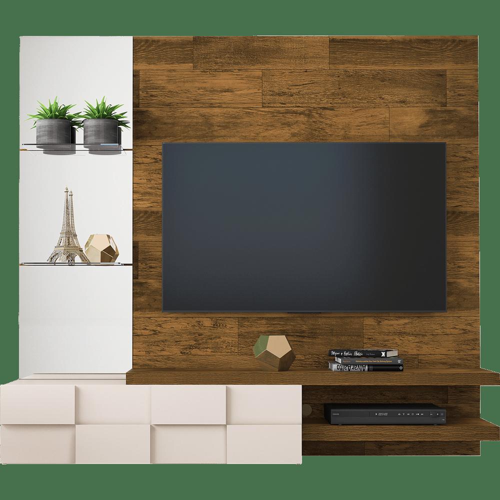 Painel Para Tv Na Parede Com Suporte E Mais Novo Mundo ~ Painel Para Tv Moderno Quarto E Quarto Bebe Cinza E Verde