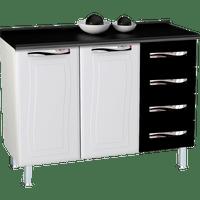 balcao-de-cozinha-em-aco-4-gavetas-2-portas-puxadores-em-abs-colormaq-ipanema-master-preto-50107-0