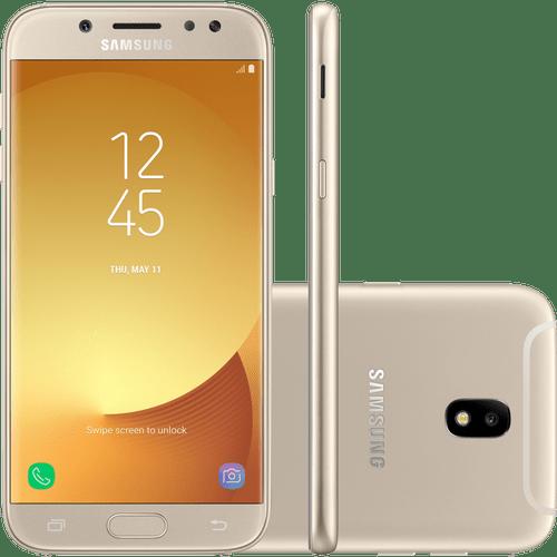 Smartphone Samsung Galaxy J5 Pro, 32gb, 4g, Octa-core, Dourado - J530g