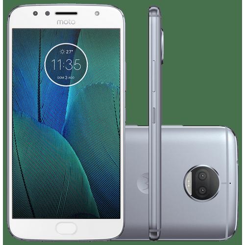 Smartphone Motorola Moto G5S Plus, 32GB, Octa-Core, TV, Dual Chip, Azul Topázio - XT1802