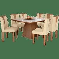 mesa-de-jantar-8-cadeiras-com-tampo-de-vidro-dj-moveis-pietra-castanho-fosco-animale-bege-ii-50249-0
