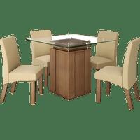 mesa-de-jantar-4-cadeiras-em-mdf-tampo-de-vidro-lj-moveis-lankaster-castanho-bege-50247-0
