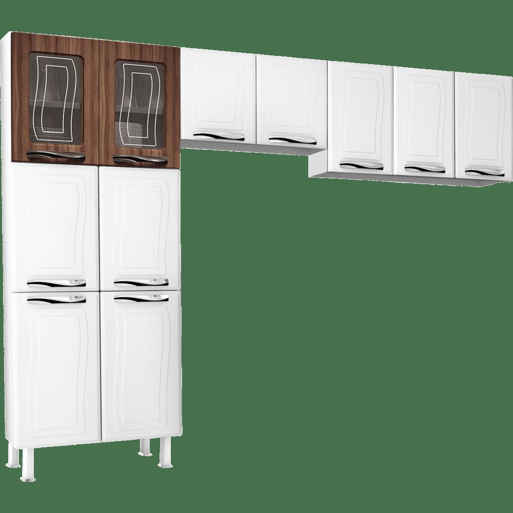 Cozinha De A O 3 Pe As 11 Portas Colormaq Ipanema Master Novo Mundo