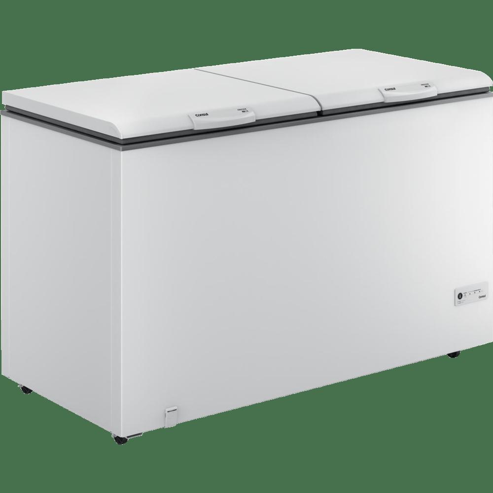 Freezer horizontal consul 2 portas 534 litros controle for Temperatura freezer