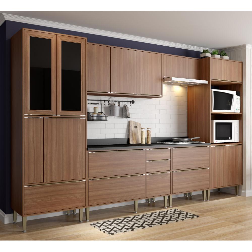 Cozinha Compacta Cal Bria Paneleiro A Reos E Balc Es Com P S