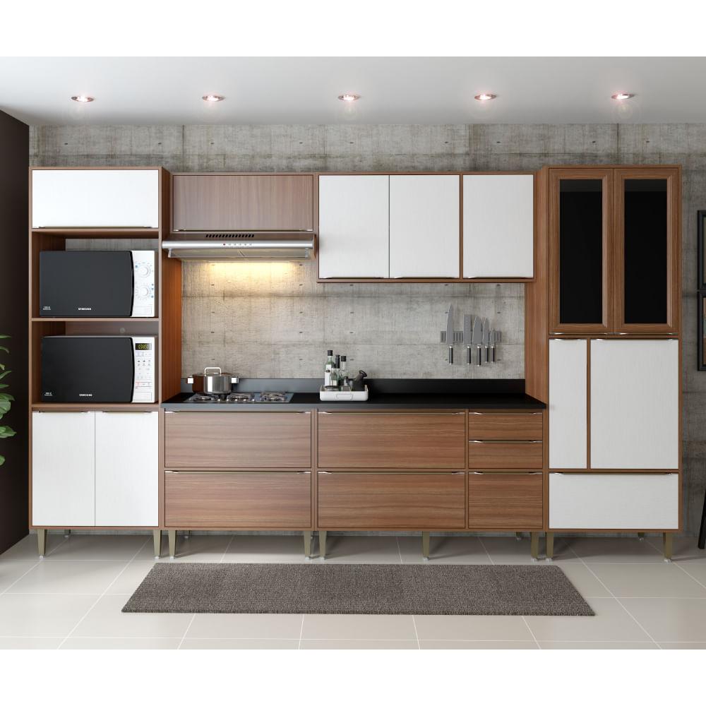 Cozinha Compacta Cal Bria A Reos Paneleiro Balc Es Com P S