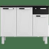 gabinete-de-aco-3-portas-1-gaveta-colormaq-paraty-glass-bt3p1g-branco-preto-50470-0