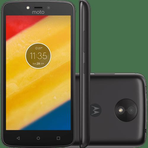 Celular Smartphone Motorola Moto C Plus Xt1726 8gb Preto - Dual Chip