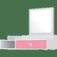 penteadeira-mdp-com-espelho-1-gaveta-demobile-jasmim-branco-rosa-50804-0