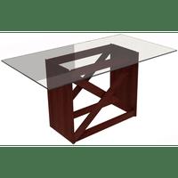 mesa-de-jantar-retangular-em-madeira-com-tampo-em-vrido-madesa-5311-tabaco-50886-0