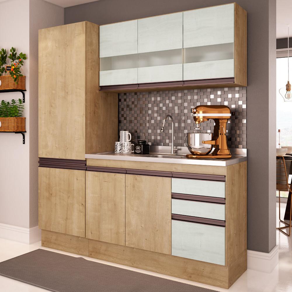 Cozinha Compacta Am Lia A Reo Paneleiro E Balc O Para Pia