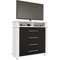 comoda-mdf-e-mdp-com-4-gavetas-tv-video-rv-moveis-tokio-branco-preto-28562-0