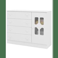 comoda-de-madeira-4-gavetas-1-porta-mdf-canaa-moveis-cristal-branco-brilho-51681-0